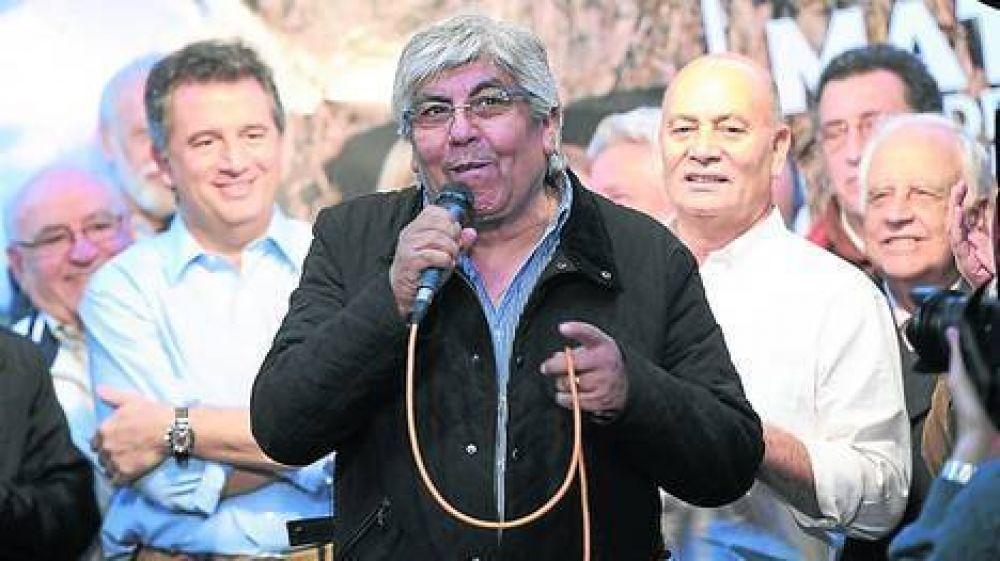 """Moyano: """"No hay mucha democracia sindical"""""""