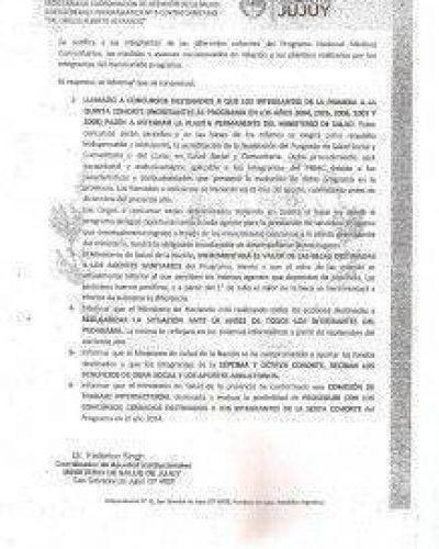 M�dicos Comunitarios desmienten al Ministerio de Salud de Jujuy: �no hemos alcanzado ning�n consenso�