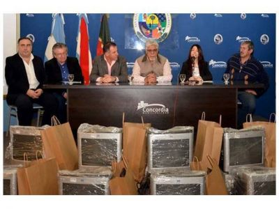 En Concordia juntaron casi 10.000 kilos de basura electrónica