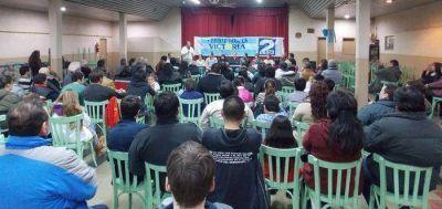 El Frente para la Victoria presentó sus candidatos en Chasicó y Pelicurá