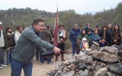 """Homenaje a la """"Pachamama"""" en el Pueblo Perdido de La Quebrada"""