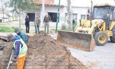 Continúa la repavimentación en avenida Intendente de la Sota