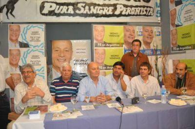 """""""Momo"""" Venegas inauguró la sede local del partido FE: l referente de UATRE pasó por San Nicolás"""