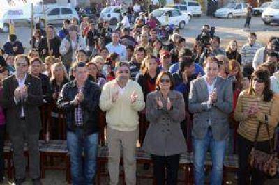 Corpacci festejó el aniversario del CIC Sur y resaltó el apoyo de la Nación