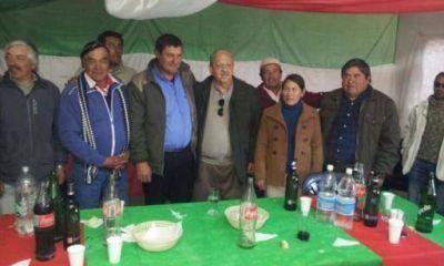 Brizuela del Moral continúa visitando el interior provincial