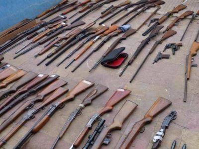 Tenía más de 200 armas en su casa y permiso sólo para ocho