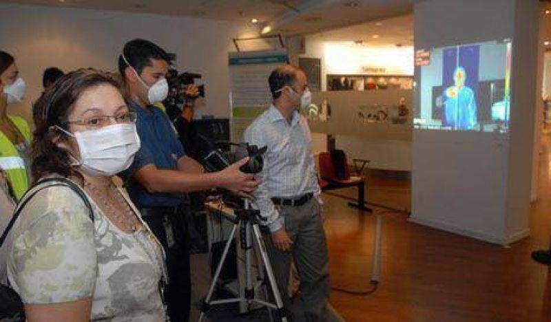 Un argentino que volvi� de M�xico presenta s�ntomas de gripe porcina