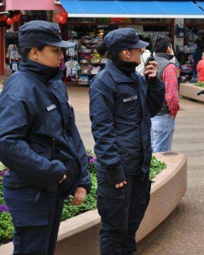 Exitoso trabajo policial para evitar robos y arrebatos durante el Black Friday