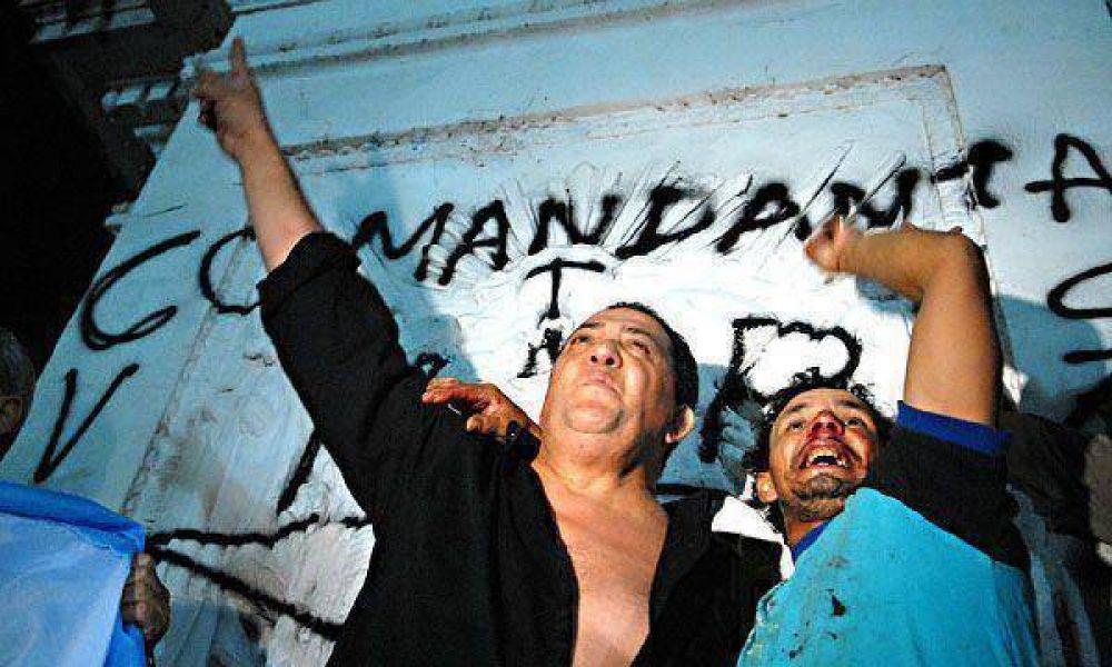 """Luis D'Elía: """"Me están cobrando la contracumbre de las Américas y mi encendida defensa palestina"""""""