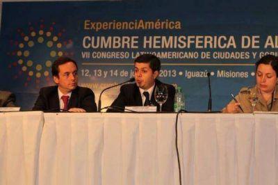Experiencias de gestión del intendente Mellela elogiado en cumbre de alcaldes