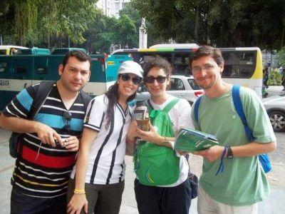 Historias de jóvenes puntanos que renovaron su fe en Brasil
