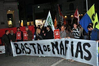 Movilización en solidaridad con el Comité Radical