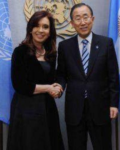 CFK comenzó su agenda en Nueva York