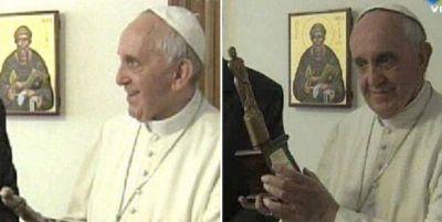 El reconocimiento especial al Papa en los Martín Fierro