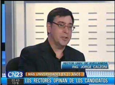 UNDAV: Jorge Calzoni realizó un análisis del sistema educativo
