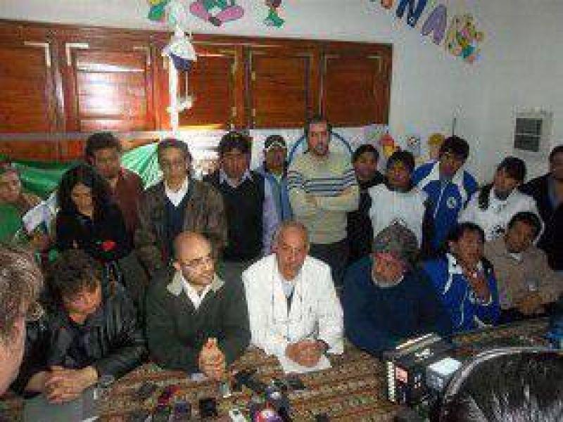 Gremios de la Intersindical anunciaron acciones jur�dicas, administrativas y gremiales por el conflicto salarial