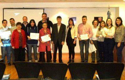 Entrega de certificados de la Capacitación en lenguaje de señas y sistema Braille