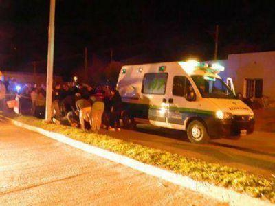 Un joven de 19 años se mató en la Av. 84