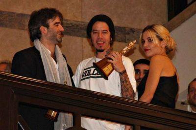 Piedra libre: Sebasti�n Ortega festej� con su Mart�n Fierro