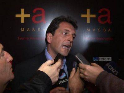 Nuevamente molesto con la prensa, Massa no respondió sobre su relación con el presunto ladrón