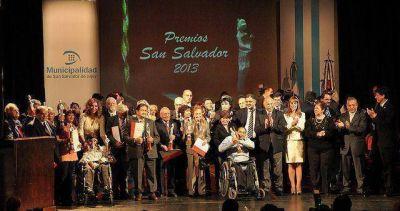 Entregaron los Premios San Salvador