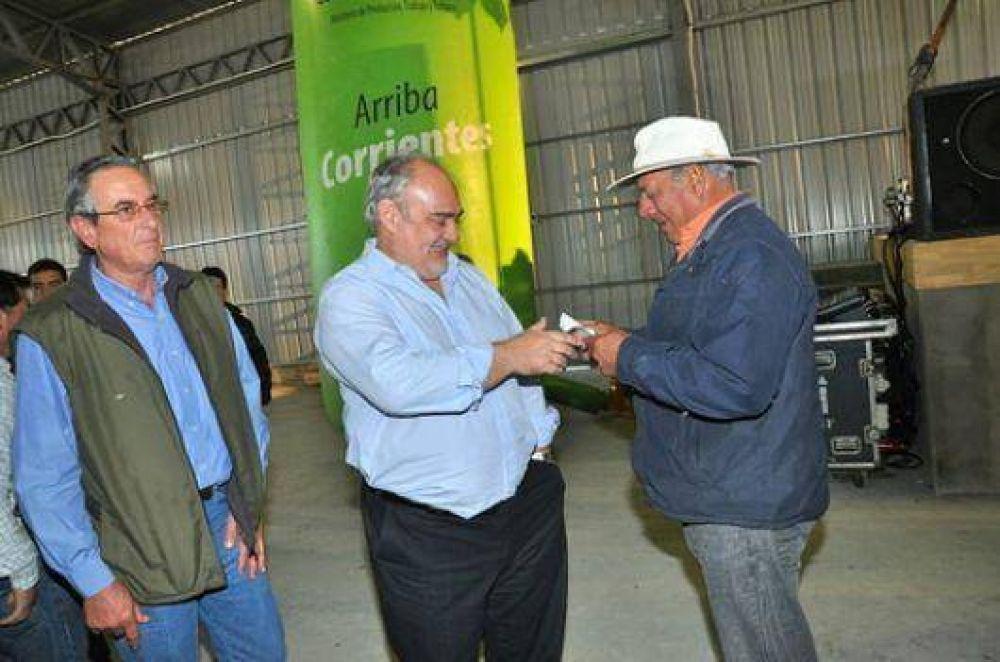 Colombi muestra su apoyo al sector productivo
