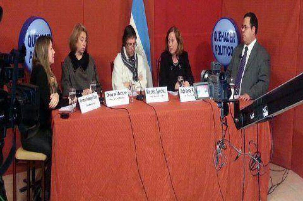 Adriana Rosso, Graciela Rosso y precandidatos recorrieron distintos barrios de la ciudad