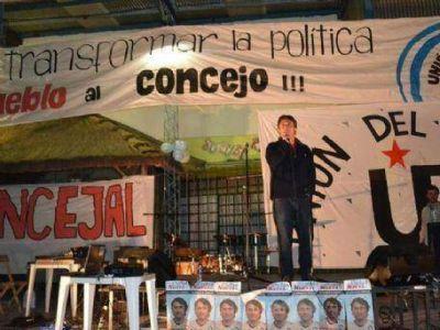 """Alejandro Presa: """"Nuestro mensaje es el del pueblo al Concejo Deliberante"""""""