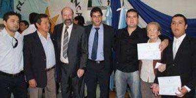 Proclamaron a las nuevas autoridades en la UNaF