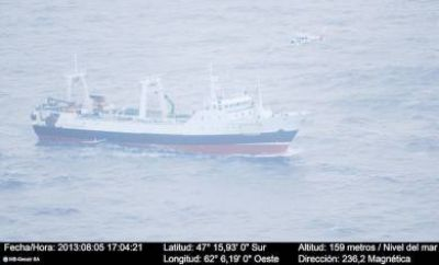 Exitosa evacuación de un pescador accidentado en altamar