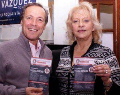 Emocionante cierre de campaña de la socialista Betty Vázquez