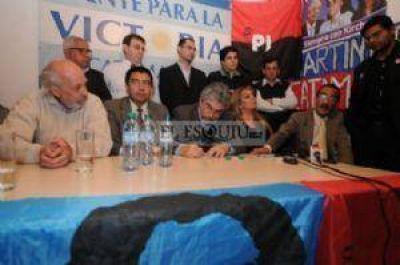 Socios del Frente para la Victoria expresaron el apoyo a candidatos