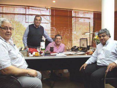 IPLyC SE recibió la visita de funcionarios de la Lotería Correntina