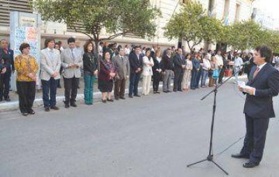 Resistencia celebr� los 62 a�os de provincializaci�n del Chaco