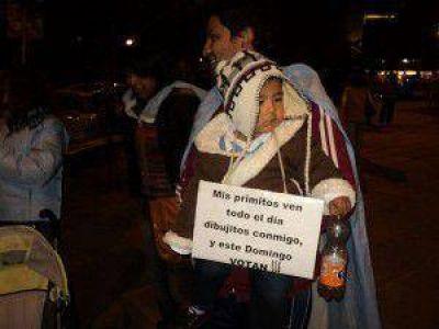 #8A: Con una convocatoria distinta, Jujuy también tuvo su cacerolazo