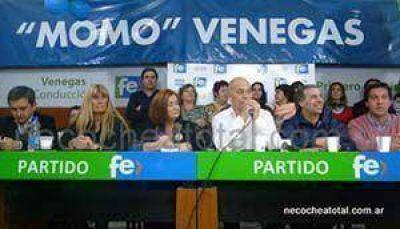 """Venegas fustigó contra cristina por el duelo nacional y dijo que es para tapar el """"8 A"""""""