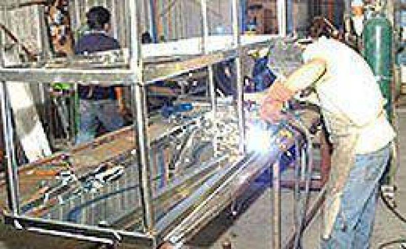 Para privados la actividad industrial cay� 9,1% en abril