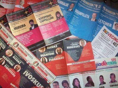 ¡A votar! Las 18 listas de San Martín que buscarán llegar al Concejo Deliberante
