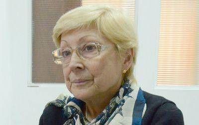 Pesar por el fallecimiento de la Defesora del Pueblo Beatriz Arza