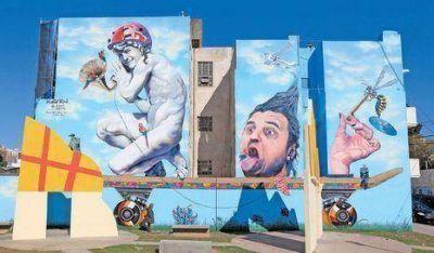 Presentan el mural más grande de la Ciudad