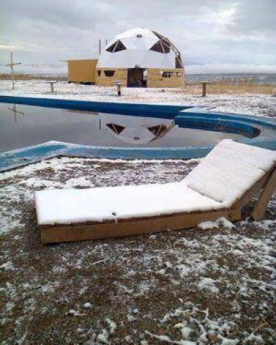 La nieve pintó de blanco a Iglesia e Ischigualasto