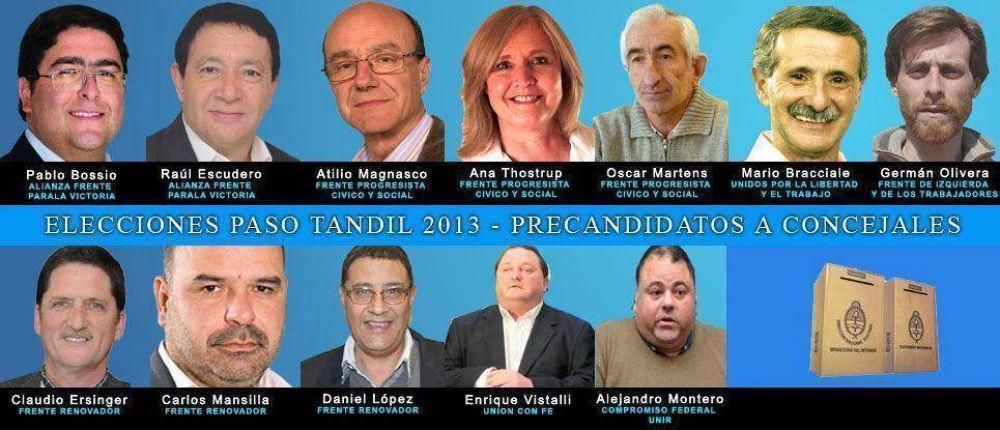 12 listas definirán en Tandil las fuerzas que participarán de las Legislativas 2013