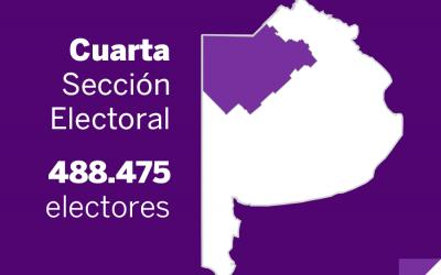 Elecciones Paso 2013: La Cuarta sección vota Senadores, concejales y consejeros escolares
