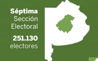 Elecciones Paso 2013: La Séptima sección vota Senadores, concejales y consejeros escolares