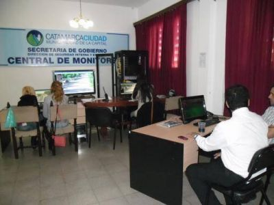El Centro de Monitoreo funciona las 24 horas