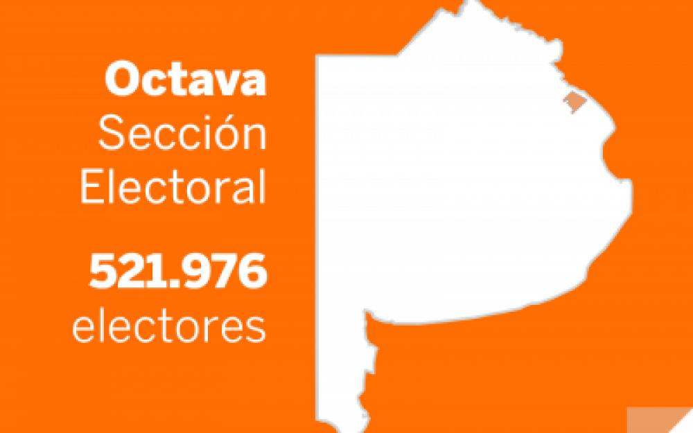 Elecciones Paso 2013: La Octava sección vota Diputados, concejales y consejeros escolares