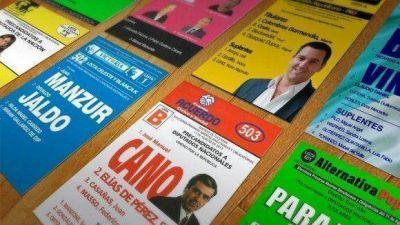 Los tucumanos eligen candidatos a diputados entre seis partidos y cuatro frentes electorales