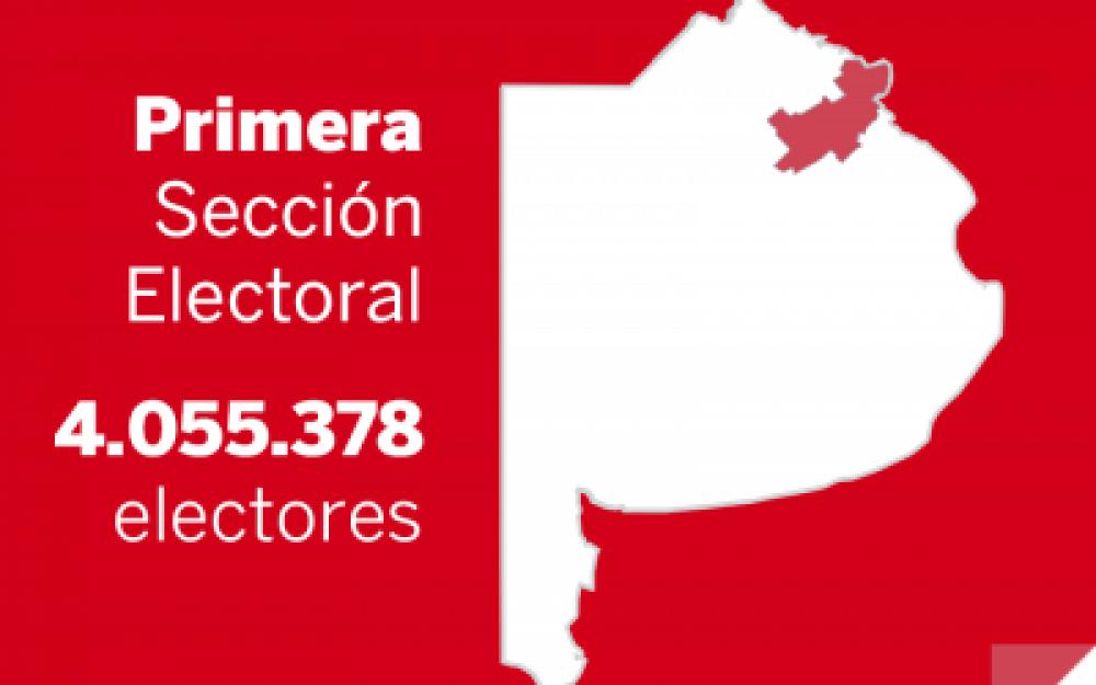 Elecciones Paso 2013: Resultados oficiales en la Primera Sección Electoral