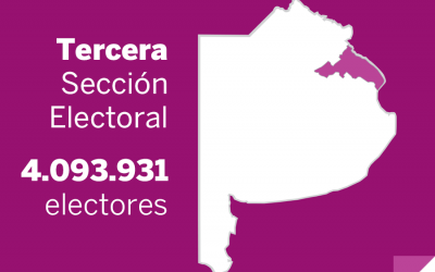 Elecciones Paso 2013: Resultados oficiales en la Tercera Sección electoral