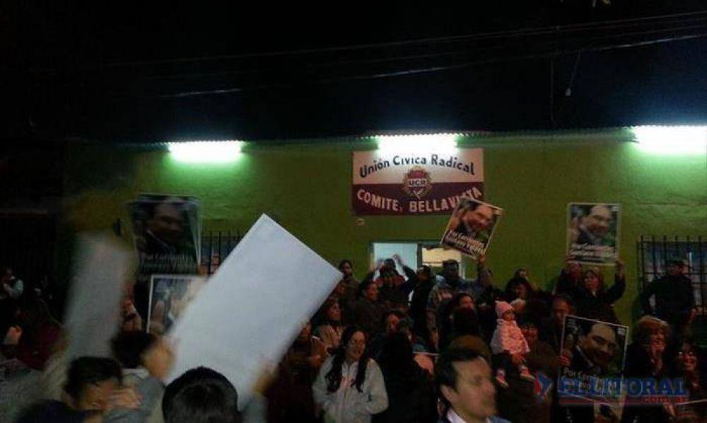 El FPV sufrió la derrota en Caseros y Bella Vista aunque festejó en otros municipios
